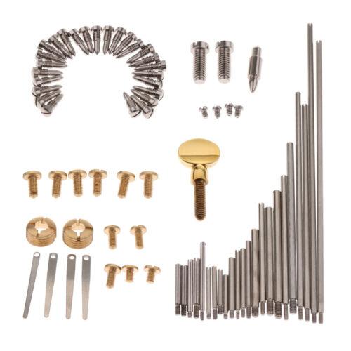 Alto Tenor Sopransaxophon Ersatzteile Schrauben für Holzblasinstrumente