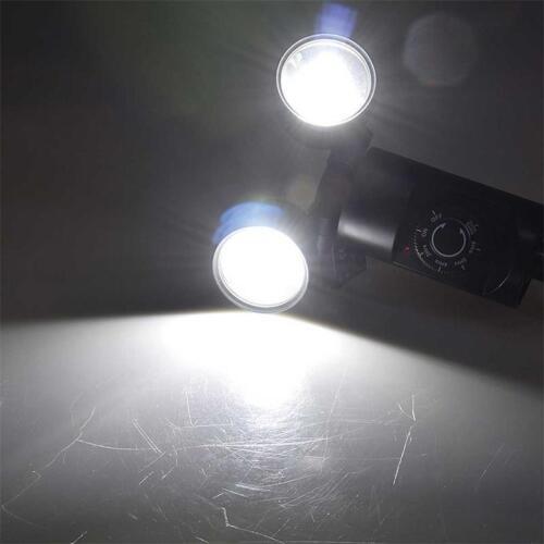 Timer LED Erdspieß Straher 3W//6W mit Dämmerungsschalter Sensor Gartenleuchte