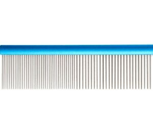 ALUMINIUM-COMB-7-034-x-1-5-inch-Ancol-Ergo-Dog-Groom-Stainless-Steel-bp-Brush