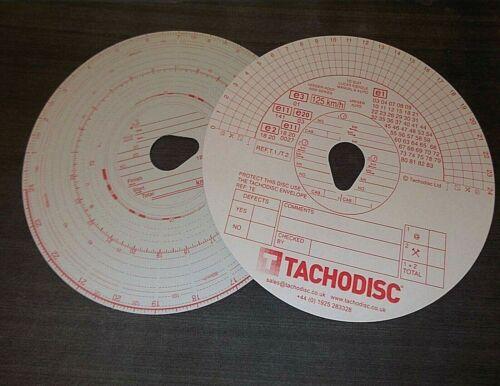 Camion Pack de 100 WAGON Tachygraphe Disque/'S Tacho * top qualité! Transport
