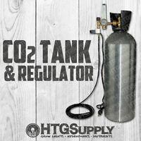 C02 Complete Controller + 20 Lb Aluminum Tank Regulator Generator Co2 Inject