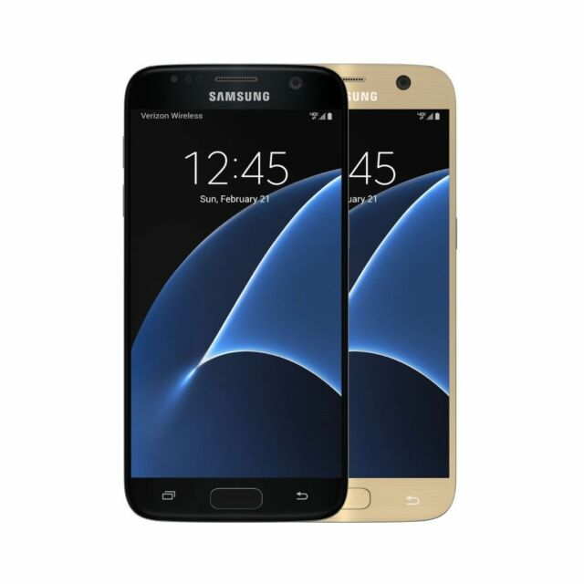 Samsung Galaxy S7 32GB G930T T-MOBILE ULTRA SIMPLE MOBILE Black Gold  NEW IN BOX