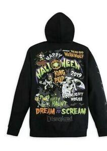 Details about Disney Parks Halloween 2019 Mickey Vampire Hoodie Zip Jacket Sweatshirt Adult Sm