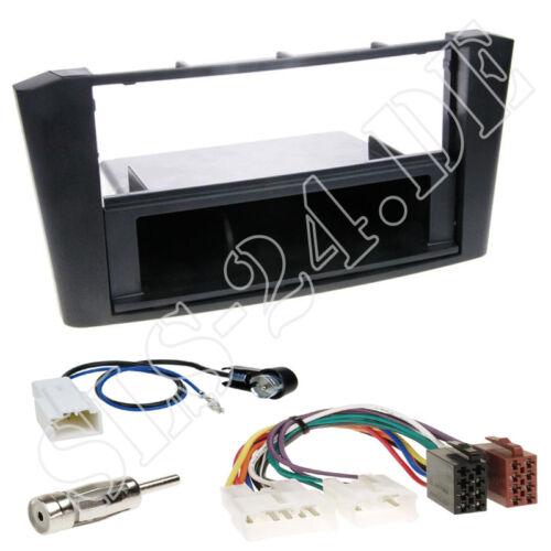 Toyota Avensis T25 Autoradio DIN Einbaurahmen Radioblende Adapterkabel Einbauset