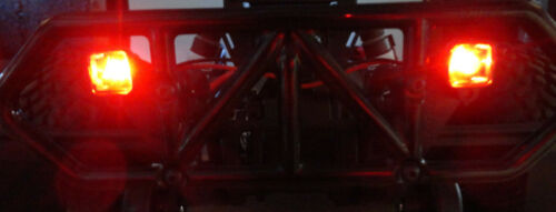 Apex RC Products Red LED Kit For RPM Traxxas Slash 2WD 4X4 Rear Bumper #9033