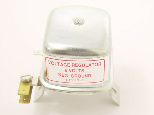 VOLTAGE REGULATOR 6 VOLT FITS VOLKSWAGEN TYPE1 BUG /& GHIA /& TYPE2 BUS