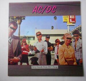ac/ dc----RECORD LP --DIRTY DEEDS DONE CHEAP  Atlantic  SD 16033  -1976