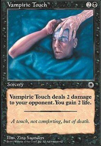 4x Vampiric Touch MTG Portal NM Magic Regular
