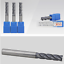 VHM HRC55 3mm-20mm 4 Zähne Schaftfräser Schlicht Fräser AlTiN Beschichtung