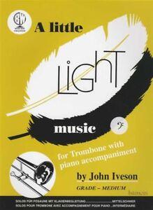 A Little Light Music For Trombone Bass Clef Partitions Livre-afficher Le Titre D'origine ChronoméTrage Ponctuel