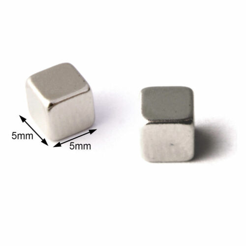 Details about  /10pcs Strong Magnets 5mm Cube Neodymium 1.1Kg Pull Rare Earth Block Magnetic