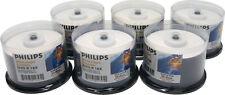 (300) DVMRPHIJ DVD Disc Philips Inkjet Printable DVD-R 16x DVDR Blank Discs NEW