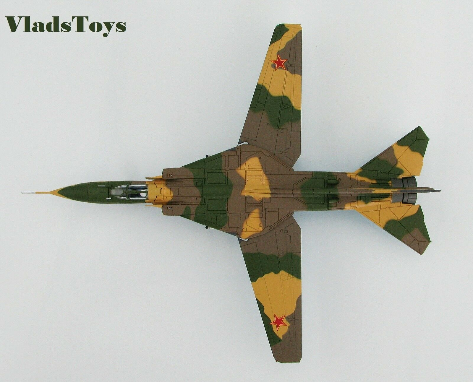 Hobby Master 1:72 MiG-23MS Flogger rosso 49 USAF 4477th Test Evaluation Sqn HA5303