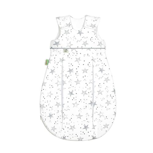 Odenwälder Prima Klima Jersey ganzjahres Schlafsack 90cm scribble stars grey NEU