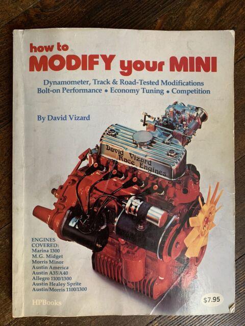 HOW TO MODIFY YOUR MINI By David Vizard Mini Cooper mechanic Book 1977