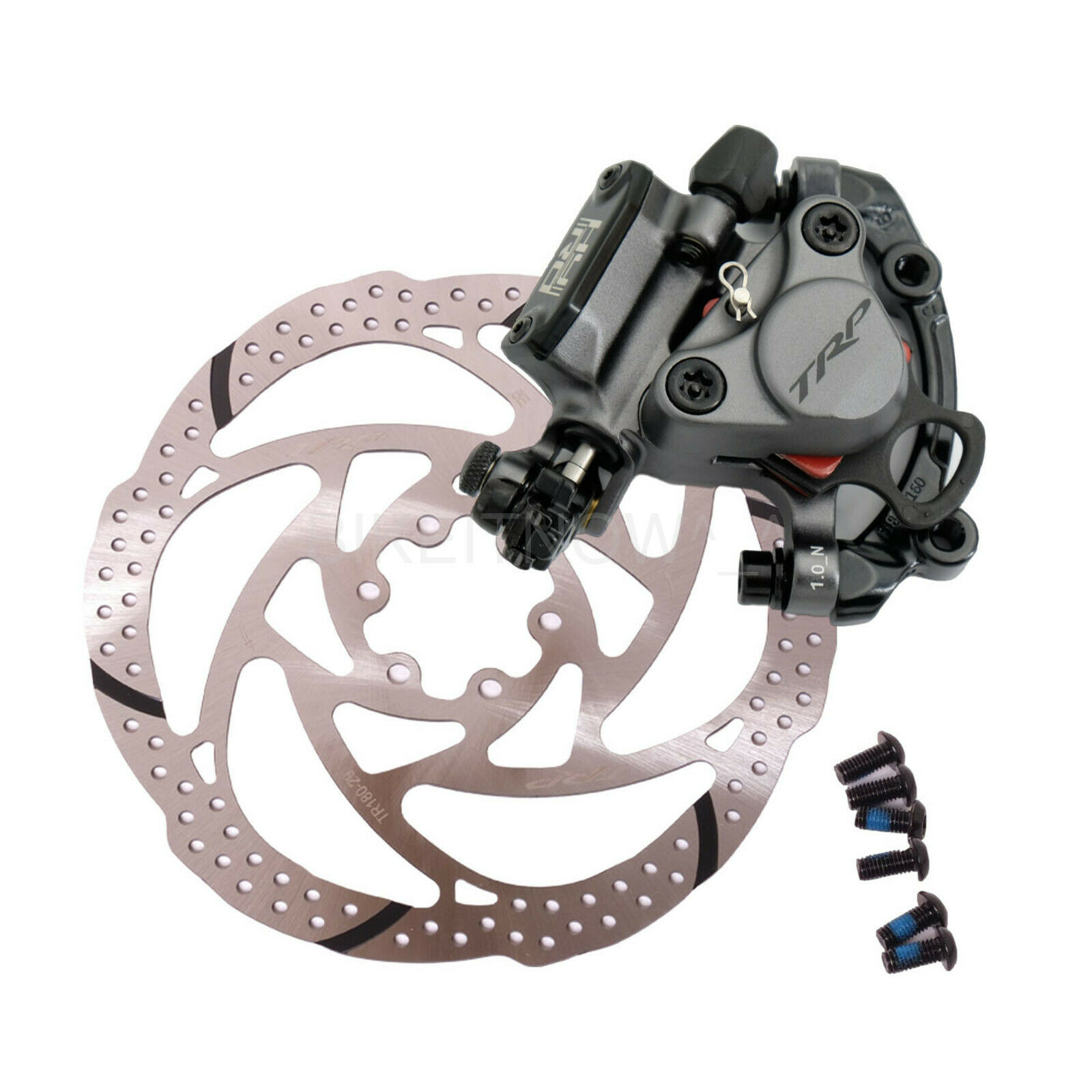 TRP HY RD Cable-Actuated Hydraulic Road CX Bike Front 180mm  Disc Brake G   clearance