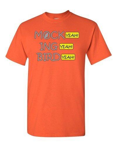Mock Ing Bird Yeah Funny Parody Comedy Movie Film Adult DT T-Shirt Tee