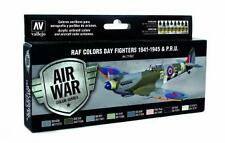 Vallejo Model Air Set WWII RAF Day Fighters (x8) # 71162
