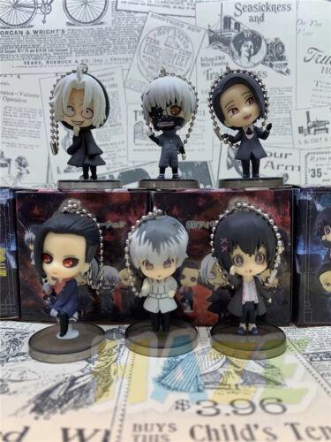 ensemble Tokyo Ghoul Kaneki Ken PVC Figure Jouets 5 cm Nouveau 6 pièces
