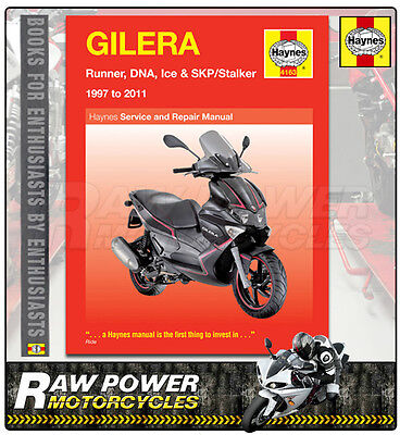 Gilera Runner ST200 (197cc) 2008 - 2011 Haynes Manual (4163)