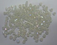 15g Acrylic Faceted Round 4mm Beads Lilac Rainbow Jewellery Making /& Craft RF304
