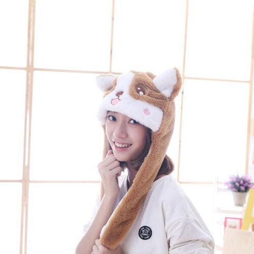 Lustige Tiermütze Plüschmütze Hundehut Winter Cosplay Plüsch Hut Mütze