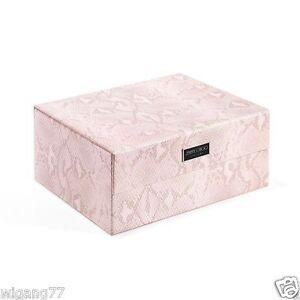 JIMMY-CHOO-PARFUMS-PINK-SNAKESKIN-SHOE-BOX-COSMETIC-VANITY-MAKE-UP-CASE