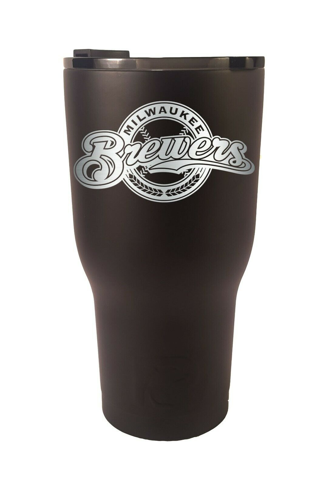 Milwaukee Brewers RTIC Laser Engraved 20 or 30 oz Stainless Steel Tumbler