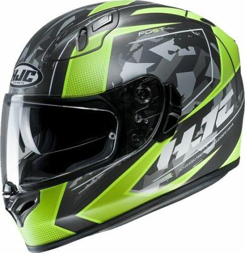 X-LARGE HJC FG-ST KUME GREEN MC4SF MOTORCYCLE HELMET