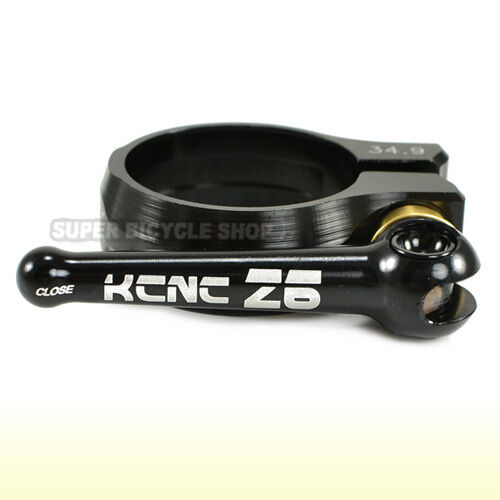 KCNC SC12 QR Seatpost Clamp Black 34.9mm