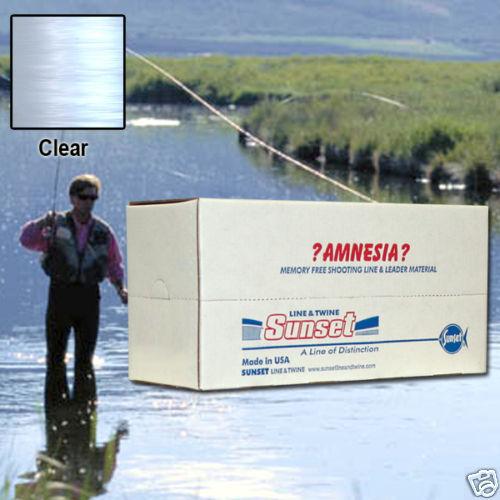 AMNESIA MEMORY FREE FISHING LINE 6 LB CLEAR SS09406X10