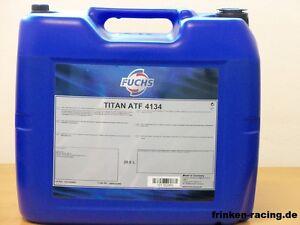 5-75-l-Fuchs-Titan-ATF-4134-20-Ltr-Automatikgetriebeol-fur-MB-236-14