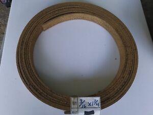 1 1/4 - Larges X 3/16 -thick Tissé Frein Doublure ~ Vendu Par Pied