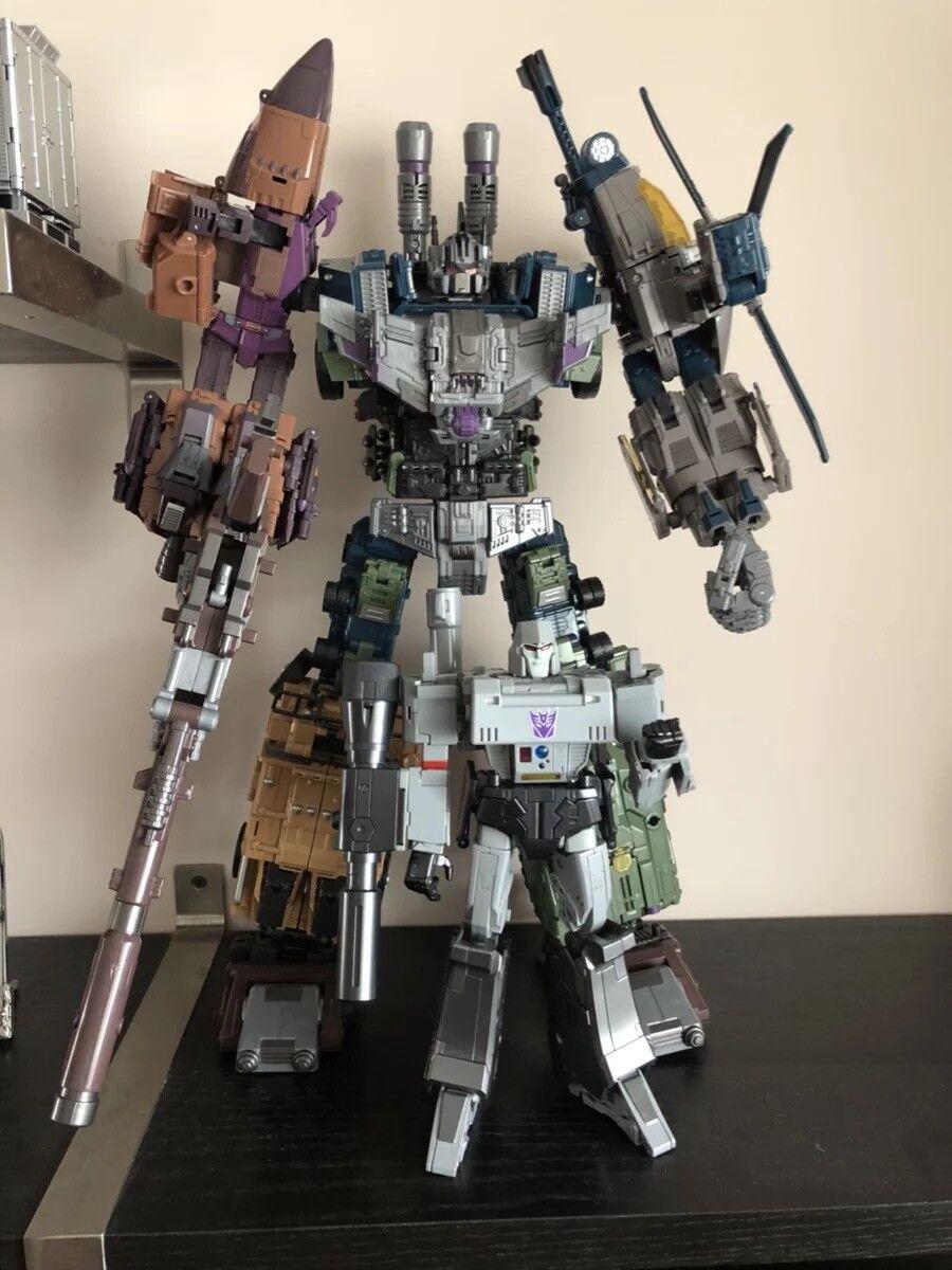 Transformers OVERDimensioneD K.O.G1 Warbotron Bruticus Combiner Jinbao