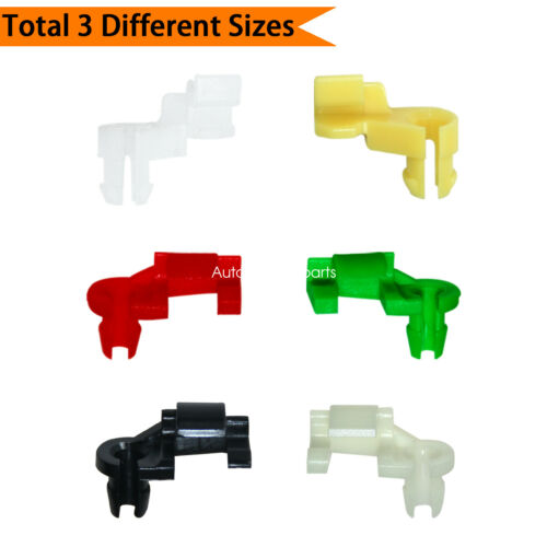 Push Retainer Clips 5 mm Rod Size 12 Pairs Tailgate Handle Rod Clip