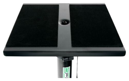 2 praktische  Ständer aus Stahl mit klapppbaren Füßen für Studio Monitor Boxen