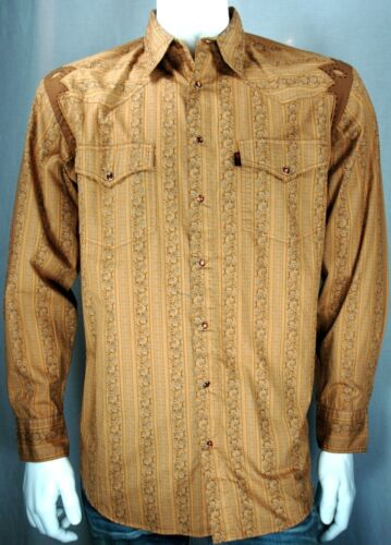 Buckaroo NEW Martini Ranch Men/'s Western Big /& Tall Longsleeve Shirt