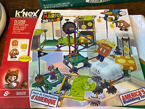 K'Nex Super Mario 3D Land Flying Cloud Building Set missing pieces