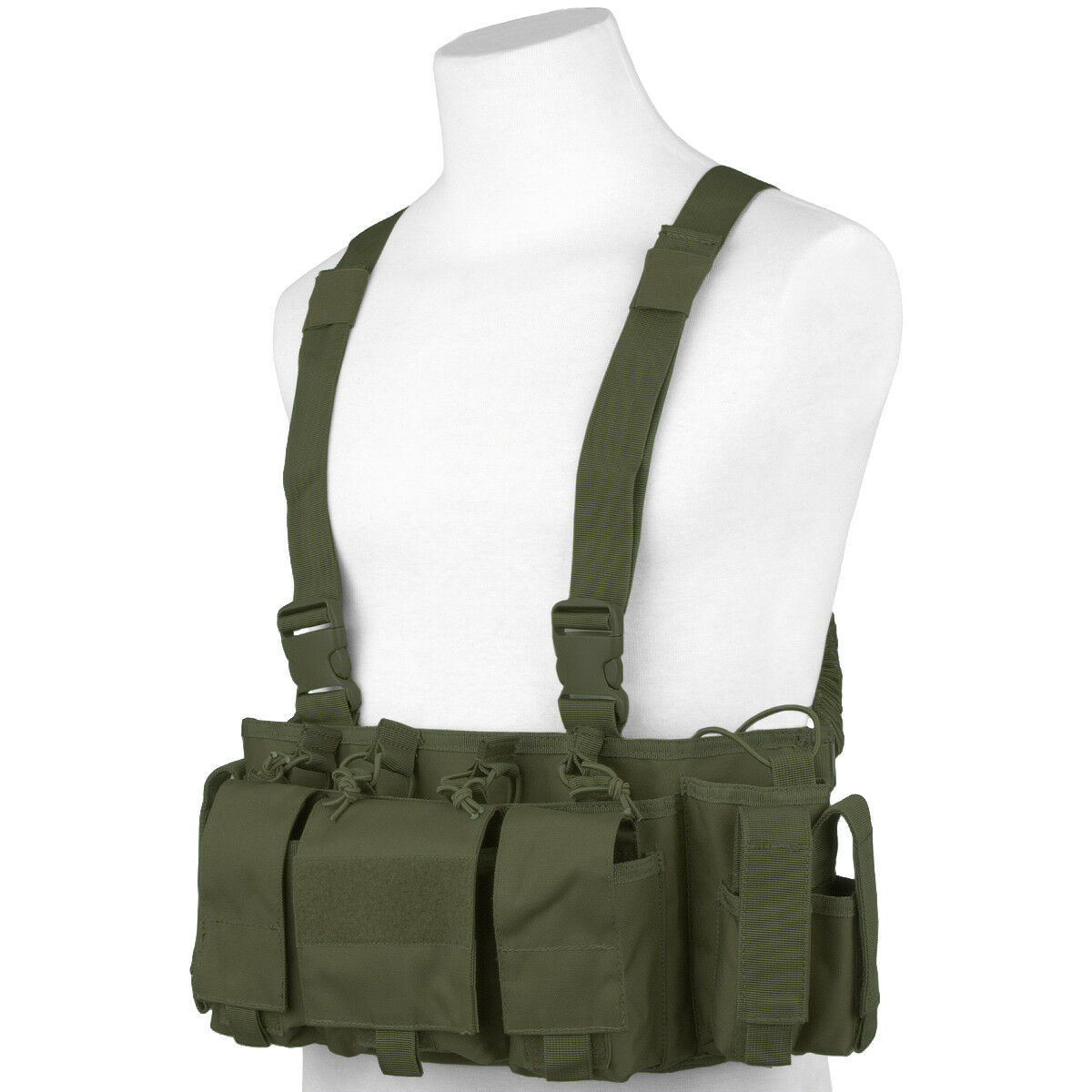 Viper Special Ops Tactical Chest Rig Jagd Paintball Ammo Carrier-Olive Grün
