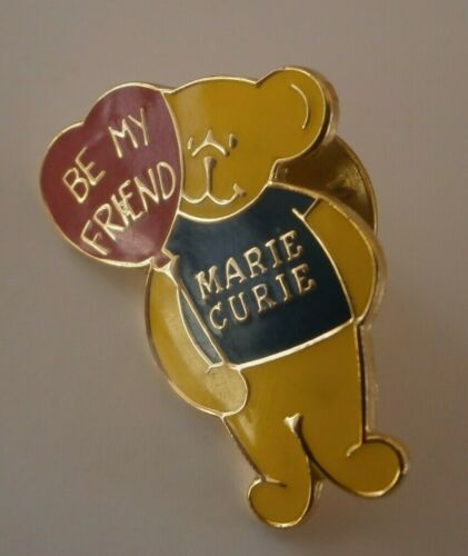 Mvl Marie Curie Cancer Bears Pin Badges Many Designs to Pick From