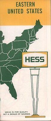 1963 Hess Road Map: Eastern United States NOS | eBay
