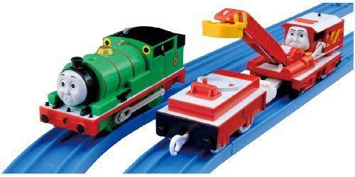 Takara Tomy Plarail Thomas TS-17 Percy & Rocky Treno Toy Dal Giappone Free Nave