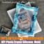 Frame Mould DIY Silicone Picture Frames Mould Tools Photo Frame Resin Mold