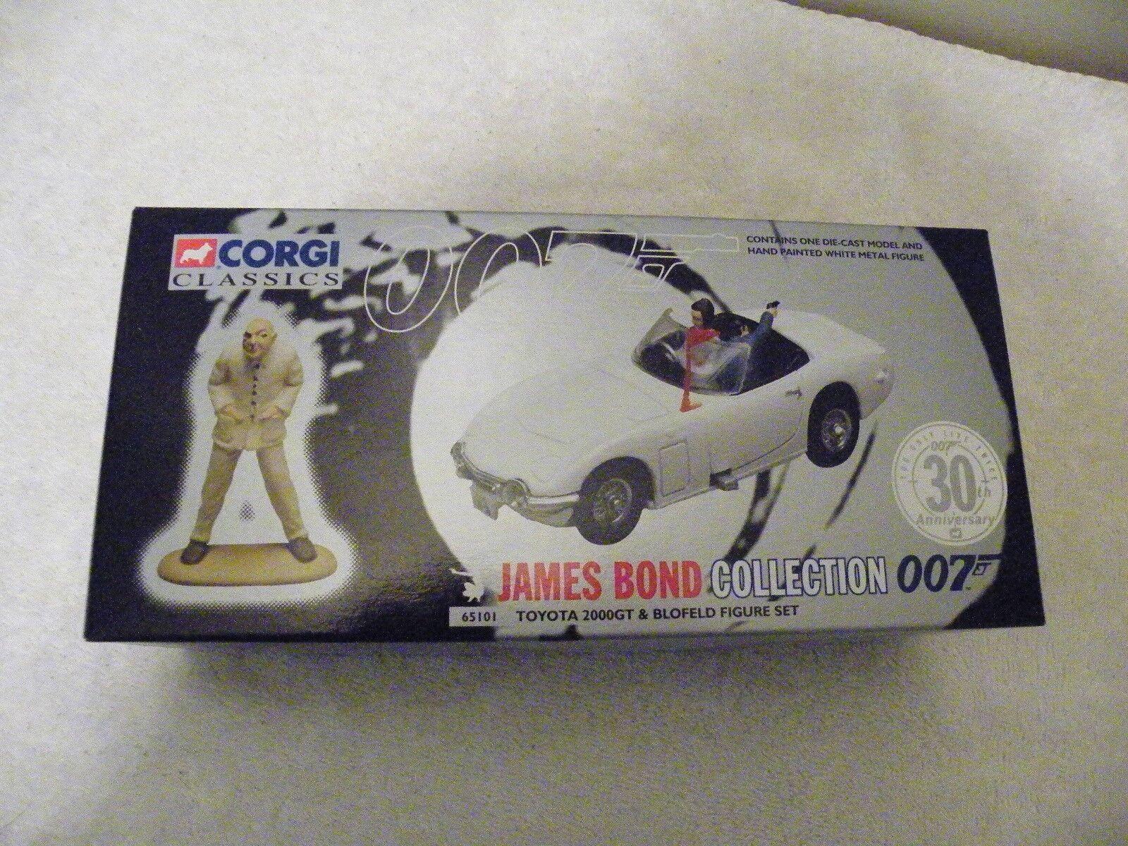 Bond Corgi classics gt2000 w figure-MIB