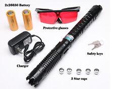 450nm THOR ULTRA Laser Pointer Blue Laser Pen Adjustable Burn Paper 1mw