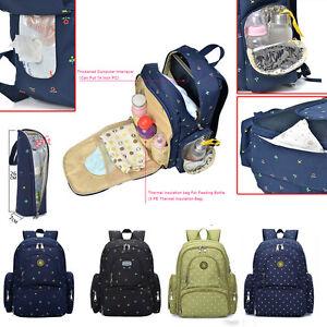 0b87b72294b3a Image is loading Large-Capacity-Multifunctional-Mummy-Nappy-Backpack- Maternity-Baby-
