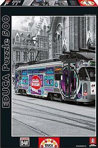 Educa-16358-Tranvia-de-Gante-en-Belgica-Puzzle-de-500-piezas-48x34cm