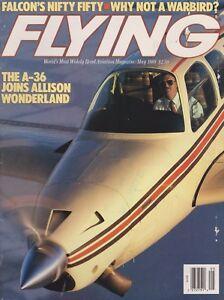 Flying-Magazine-May-1988-Allison-A-36-Bonanza-Falcon-50-Beech-Mentor