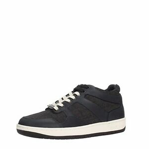 SCARPE-SNEAKER-SKEANKERS-HIGH-CUT-ARMANI-JEANS-AJ-935041-NERO-BLACK-ORIGINALI