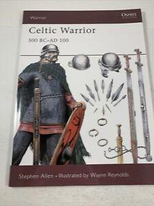 Osprey Publishing Celtic Warrior Stephen Allen Paperback 2001 Printed In Britain